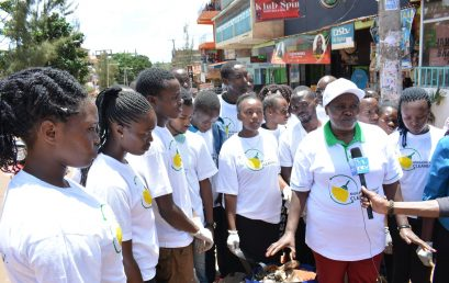 MURANG'A COUNTY CLEANING DAY.